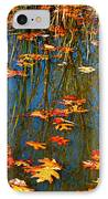 Autumn  Floating IPhone Case by Peggy Franz