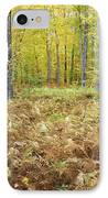 Autumn Forest - White Mountains New Hampshire IPhone Case
