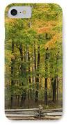 Autumn In Door County IPhone Case by Adam Romanowicz