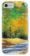 Autumn In Mt Wilson IPhone Case by Graham Gercken