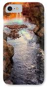Autumn In West Paris IPhone Case by Bob Orsillo