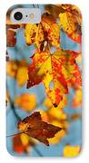 Autumn Petals IPhone Case by JAMART Photography