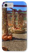 Autumn Pumpkin Patch IPhone Case by Joann Vitali