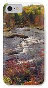 Autumn River IPhone Case by Joann Vitali
