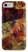 Autumn Road IPhone Case by Andee Design