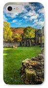 Autumn Ruins IPhone Case by Adrian Evans