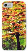 Autumn Splendor IPhone Case by Patricia Griffin Brett