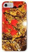Autumn Sunrise Painterly IPhone Case
