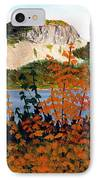 Autumn Sunset On The Hills IPhone Case by Barbara Griffin