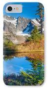 Autumn Tarn IPhone Case by Inge Johnsson