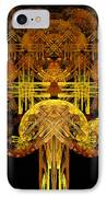 Autumn Tree IPhone Case by Sandy Keeton