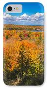 Autumn Vistas Of Nicolet Bay IPhone Case