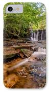 Autumn Waterfall IPhone Case by Adrian Evans