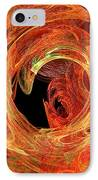 Autumn Waves IPhone Case by Andee Design