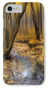 Autumn Woodland IPhone Case by Ian Hufton