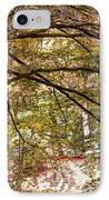 Autumnal Colors In The Summer Time. De Haar Castle Park IPhone Case