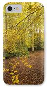 Autumnal Woodland II IPhone Case by Natalie Kinnear