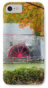 Auutmn At The Grist Mill IPhone Case by Michael Blanchette