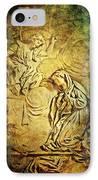 Ave Maria...gratia Plena IPhone Case by Lianne Schneider