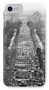 Avenue Des Champs-elysees IPhone Case by John Rizzuto