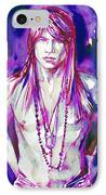 Axl Rose Portrait.3 IPhone Case