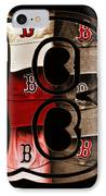 B For Bosox - Vintage Boston Poster IPhone Case