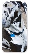 Bacchus The Great Dane IPhone Case