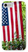 Back Porch Americana IPhone Case by Carolyn Marshall