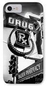 Balboa Pharmacy Drug Store Orange County Photo IPhone Case by Paul Velgos