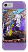 Balcony IPhone Case by Ben and Raisa Gertsberg