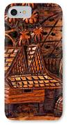 Bali Wood Carving IPhone Case