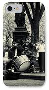 Band On Union Square New York City IPhone Case by Sabine Jacobs