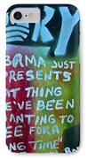 Barack And Fifty Cent IPhone Case by Tony B Conscious