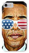 Barack Obama IPhone Case by Nuno Marques