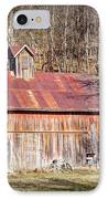 Barn By The Bluffs IPhone Case