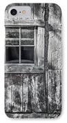 Barn Window IPhone Case by Joan Carroll