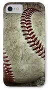 Baseball - A Retired Ball IPhone Case
