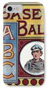 Baseball Abc IPhone Case by McLoughlin Bros