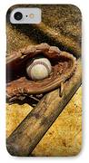Baseball Home Plate IPhone Case by Paul Ward