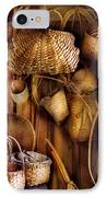 Basket Maker - I Like Weaving IPhone Case by Mike Savad