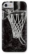 Basketball Years IPhone Case by Karol Livote
