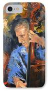 Bass Man IPhone Case by Anthony Falbo