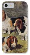 Basset Hounds IPhone Case