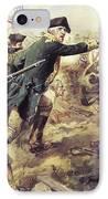 Battle Of Bennington IPhone Case by Frederick Coffay Yohn