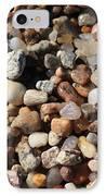 Beach Agates IPhone Case by Carol Groenen