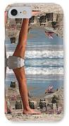 Beach Scene IPhone Case by Betsy Knapp