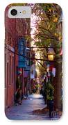 Beacon Hill Streets IPhone Case by Joann Vitali