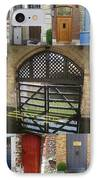 Beautiful Doors In London France And Belgium IPhone Case by Cathy Jacobs