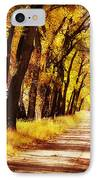 Beautiful Fall Day In Nebraska IPhone Case