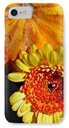 Beauty And The Squash 2 IPhone Case